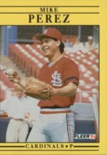 Photo of 1991 Fleer #643 Mike Perez RC