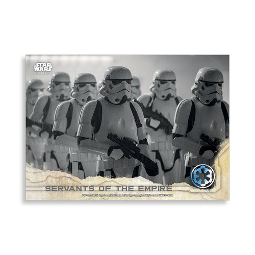 Servants of the Empire 2016 Star Wars Rogue One Series One Base Poster - # to 99