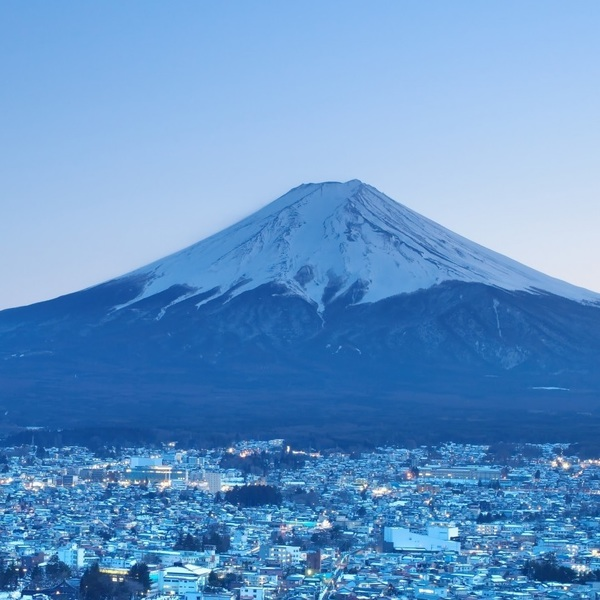 Click to view Energy and Serenity at Mount Fuji.