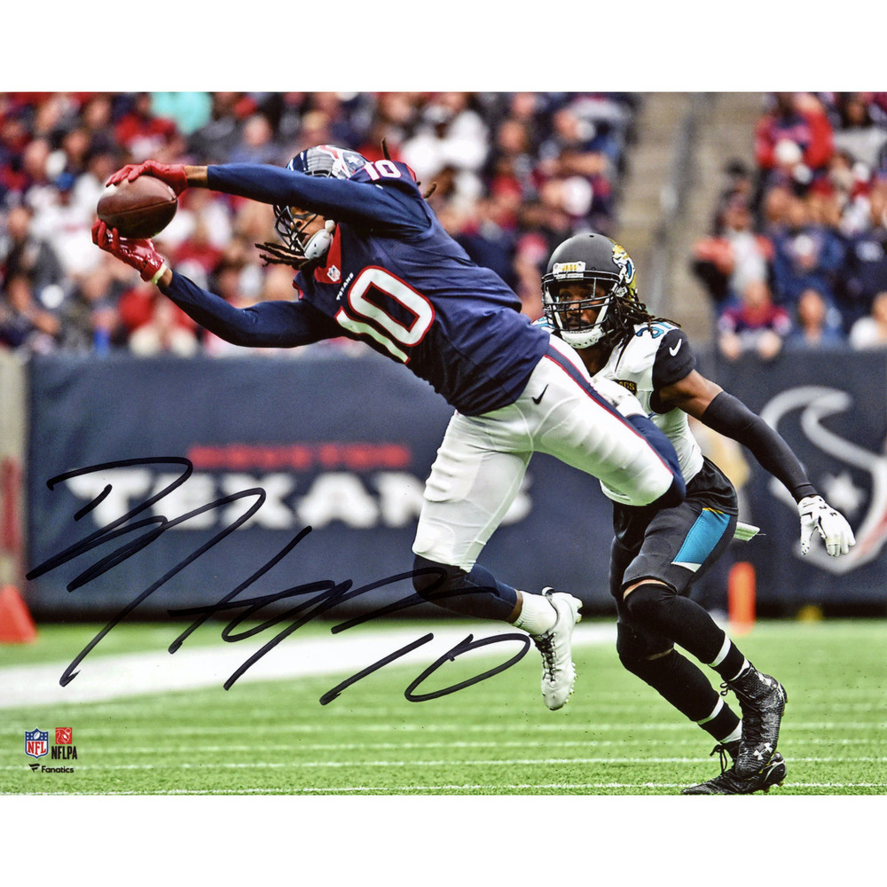 DeAndre Hopkins Houston Texans Autographed 8