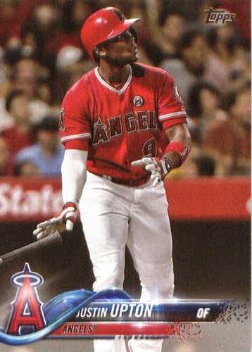 Photo of 2018 Topps #190 Justin Upton