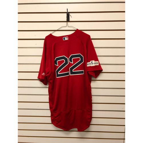 Photo of Rick Porcello Game Used September 29, 2017 Home Alternate Jersey