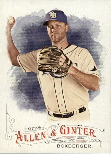 Photo of 2016 Topps Allen and Ginter #236 Brad Boxberger