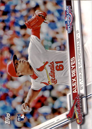 Photo of 2017 Topps Opening Day #165 Alex Reyes Rookie Card