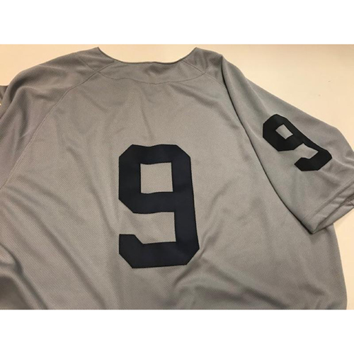 Photo of Game-Used 1968 World Series 50th Anniversary Jersey: Nicholas Castellanos