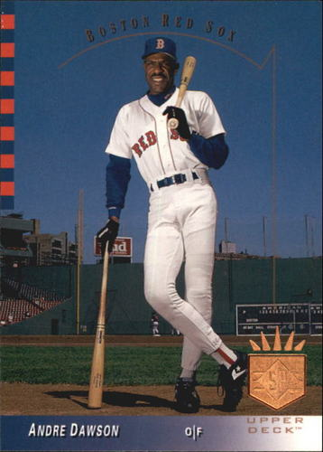 Photo of 1993 SP #201 Andre Dawson