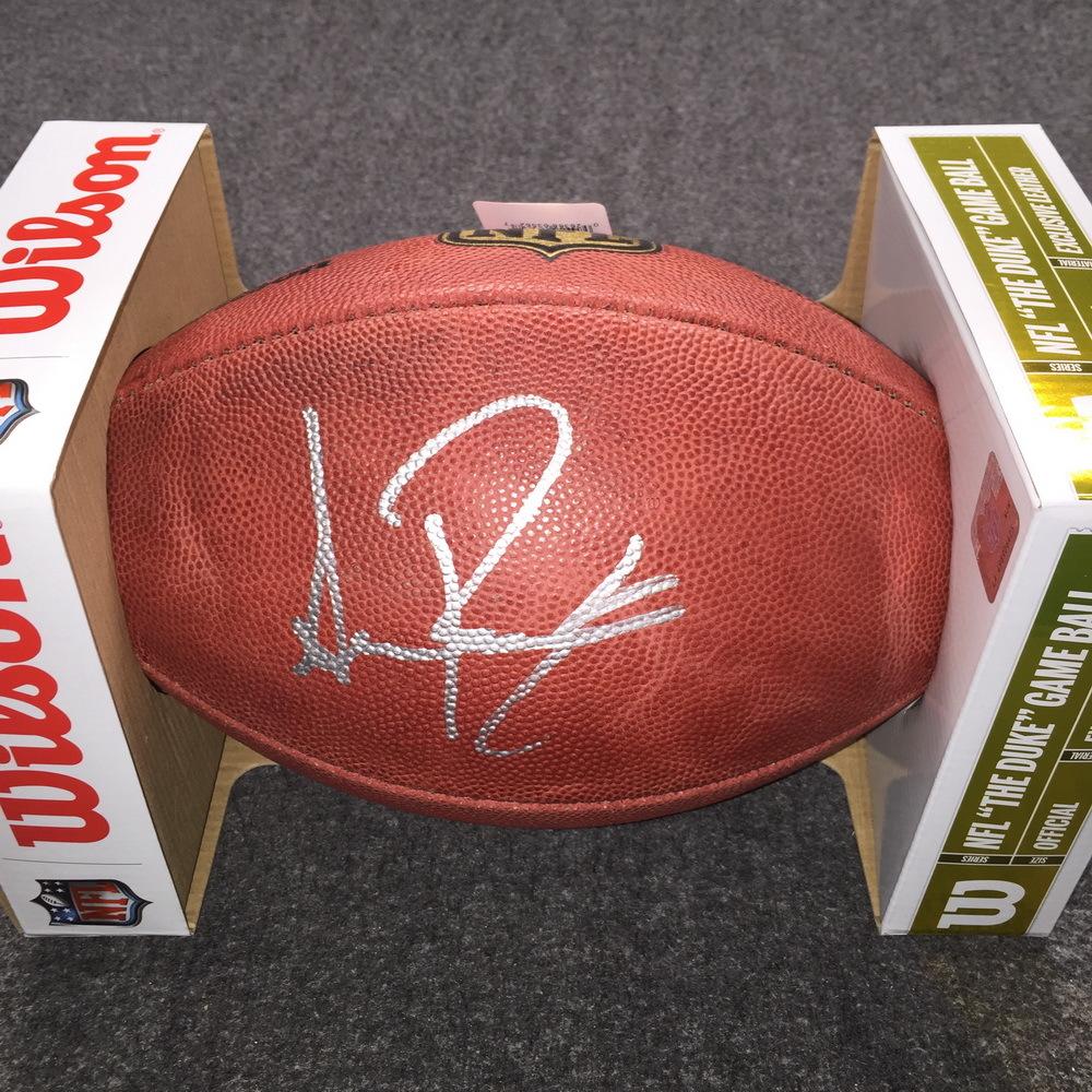 NFL - Saints Sean Payton signed authentic football
