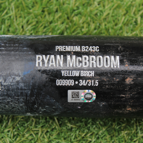 Photo of Team-Issued Bat: Ryan McBroom