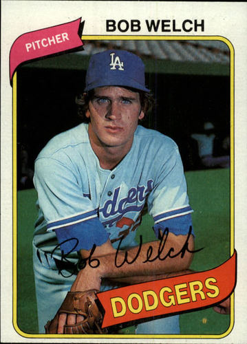 Photo of 1980 Topps #146 Bob Welch