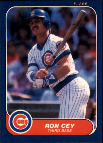 Photo of 1986 Fleer #363 Ron Cey