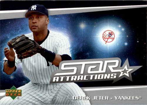 Photo of 2006 Upper Deck Star Attractions #DJ Derek Jeter