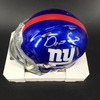 NFL - Giants Darius Slayton Signed Mini Helmet
