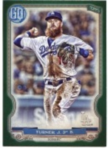 Photo of 2020 Topps Gypsy Queen Green #92 Justin Turner