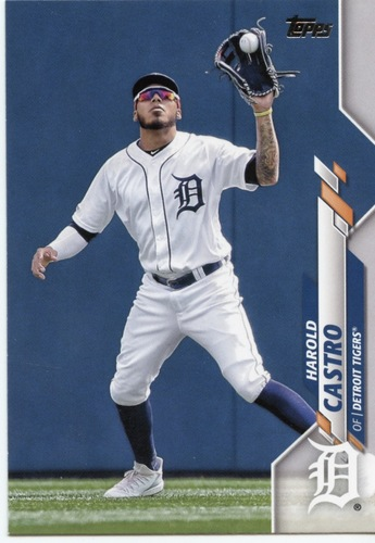 Photo of 2020 Topps #543 Harold Castro