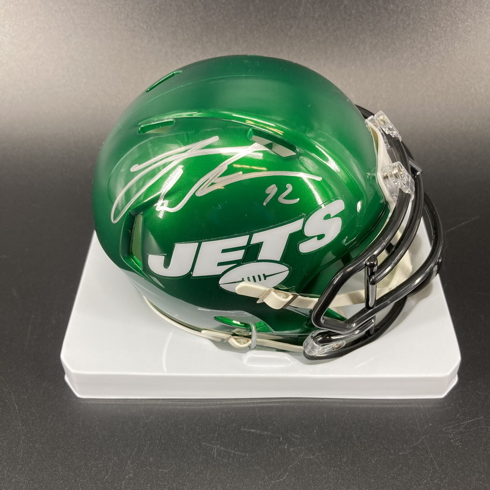 Jets - Leonard Williams Signed Mini Helmet