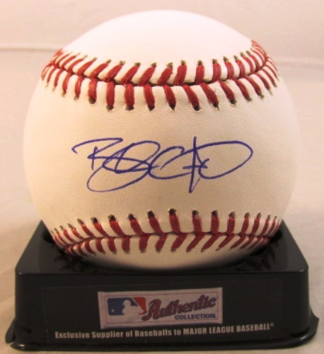 Photo of Brandon Crawford Autographed Baseball