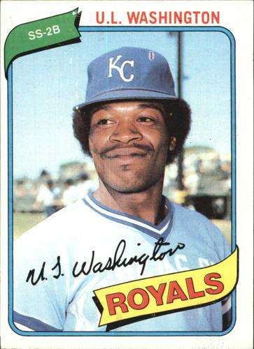 Photo of 1980 Topps #508 U.L. Washington