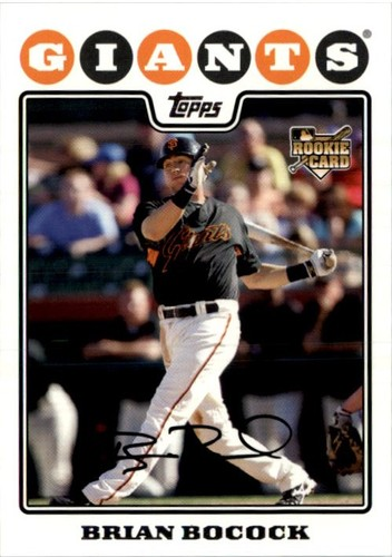 Photo of 2008 Topps #469 Brian Bocock RC