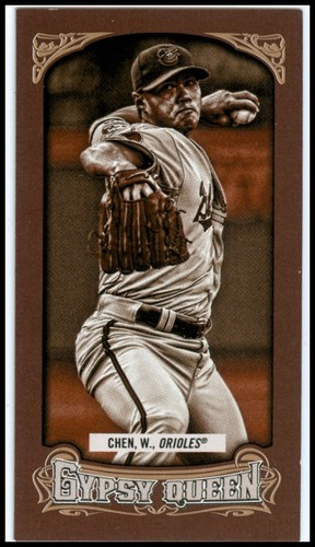 Photo of 2014 Topps Gypsy Queen Mini Sepia #224 Wei-Yin Chen