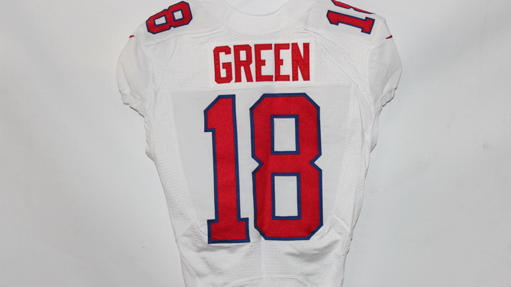 NFL Auction   BENGALS A.J. GREEN PHOTO SHOOT WORN 2013 PRO BOWL JERSEY