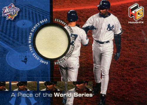 Photo of 2000 Upper Deck HoloGrFX A Piece of the Series #PS5 Bernie Williams
