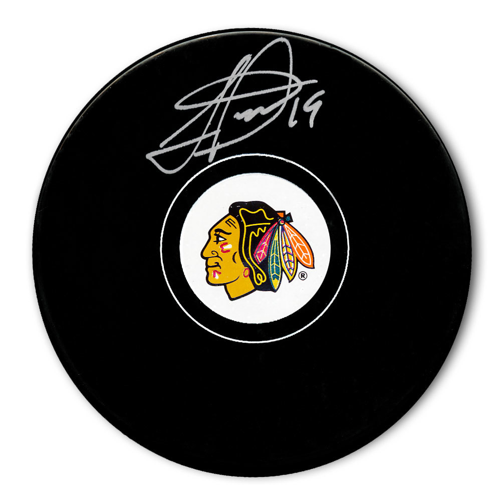 Jonathan Toews Chicago Blackhawks Autographed Puck