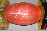 NFL - PACKERS KEVIN KING SIGNED AUTHENTIC FOOTBALL