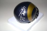 NFL - RAMS AARON DONALD SIGNED RAMS MINI HELMET
