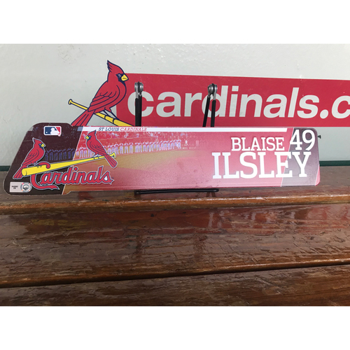 Cardinals Authentics: Blaise Ilsley LockerTag