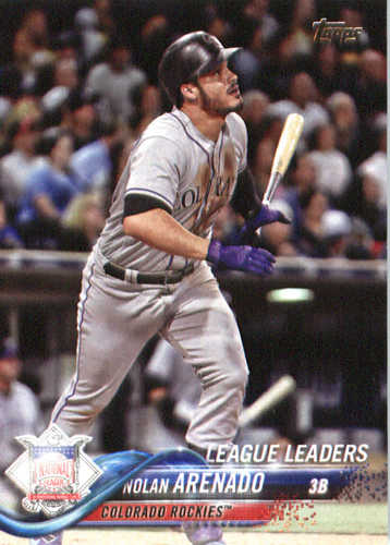 Photo of 2018 Topps #192 Nolan Arenado LL