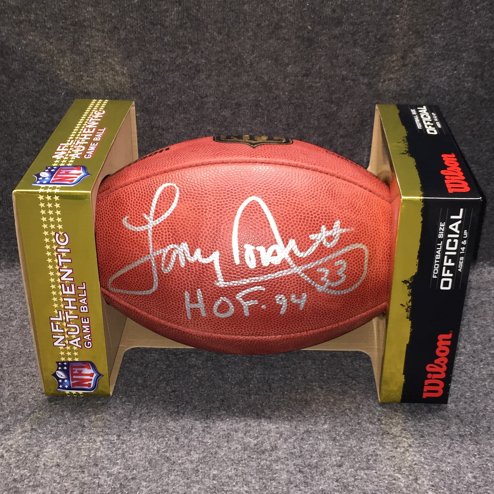 HOF - Cowboys Tony Dorsett signed authentic football
