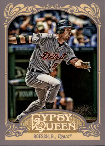 Photo of 2012 Topps Gypsy Queen #12 Brennan Boesch