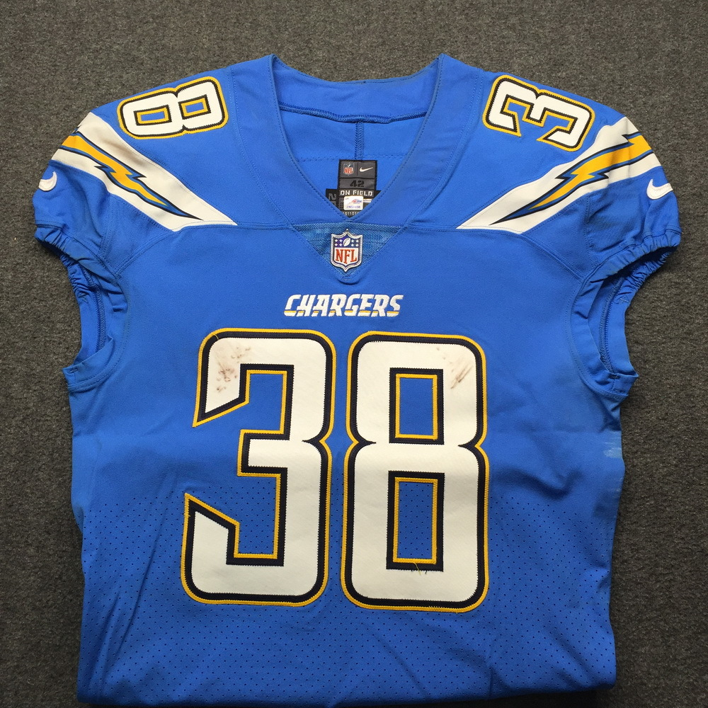 low priced dac9e c9559 NFL Auction | NFL - London Games Chargers Detrez Newsome ...