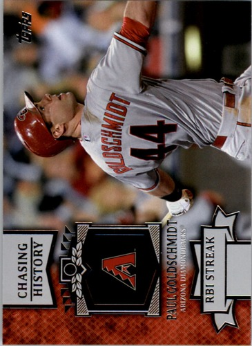 Photo of 2013 Topps Chasing History #CH115 Paul Goldschmidt