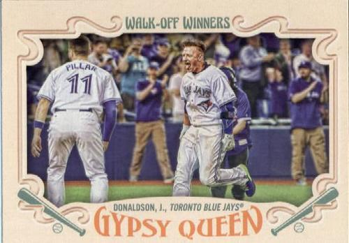 Photo of 2016 Topps Gypsy Queen Walk Off Winners #GWO5 Josh Donaldson