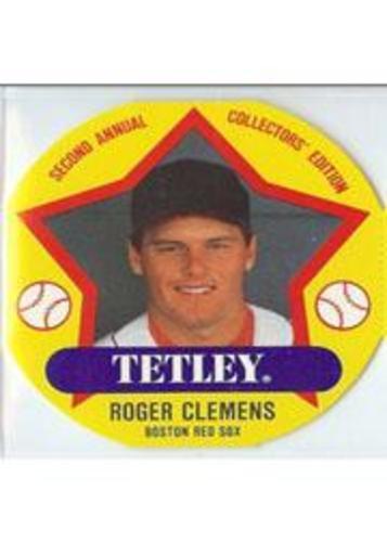 Photo of 1989 Tetley Tea Discs #8 Roger Clemens