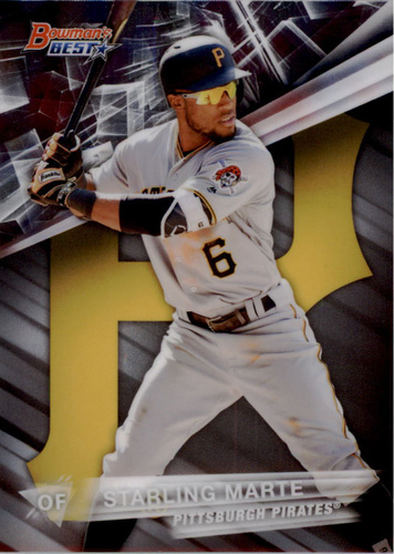 Photo of 2016 Bowman's Best #53 Starling Marte