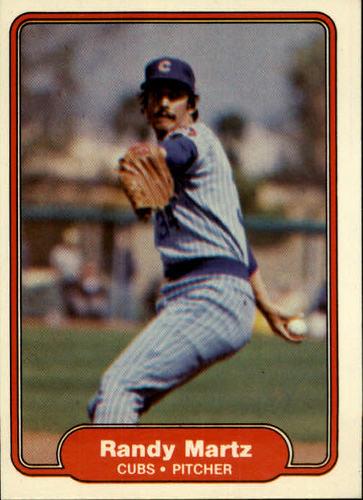 Photo of 1982 Fleer #600 Randy Martz