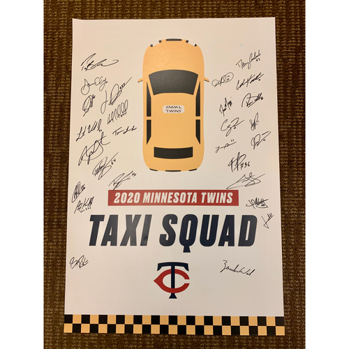 Photo of Twins Taxi Squad Poster