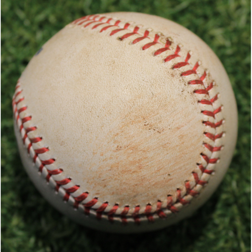 Photo of Game-Used Baseball: Dexter Fowler Career 1,301st Hit & 516th Career RBI (STL @ KC 9/23/20)