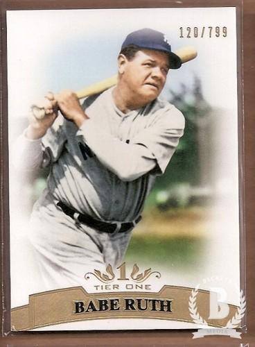 Photo of 2011 Topps Tier One #3 Babe Ruth