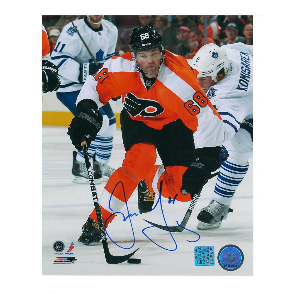 dd454e1d3 JAROMIR JAGR Signed Philadelphia Flyers 8 X 10 Photo - 70136 - NHL ...