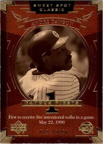 Photo of 2004 Sweet Spot Classic #92 Andre Dawson FF/1990
