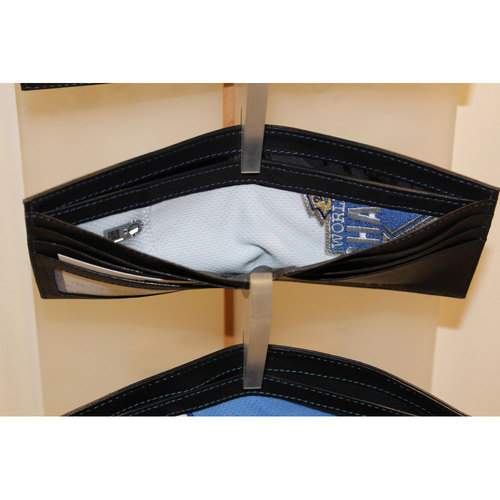 Photo of Kansas City Royals Game-Used Jersey Wallet (Eric Hosmer White Jersey)