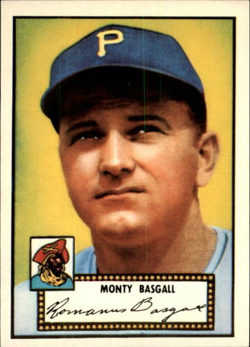 Photo of 1983 Topps 1952 Reprint #12 Monty Basgall