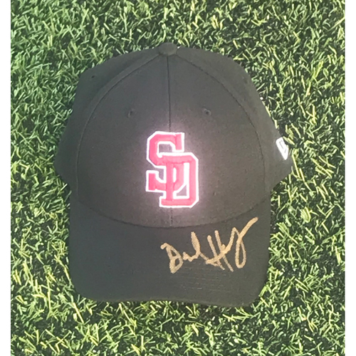 Photo of Dave Hudgens Autographed and Game-Used Stoneman Douglas Eagles Cap