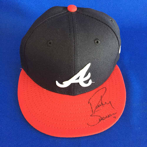 Photo of UMPS CARE AUCTION: Dansby Swanson Signed Cap - Size 6 7/8 - Not MLB Authenticated