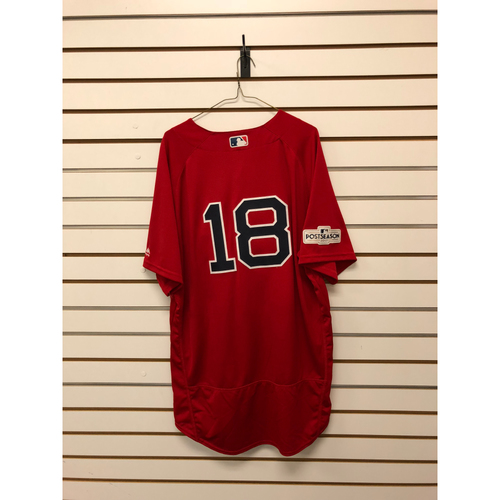 Photo of Mitch Moreland Game Used September 29, 2017 Home Alternate Jersey