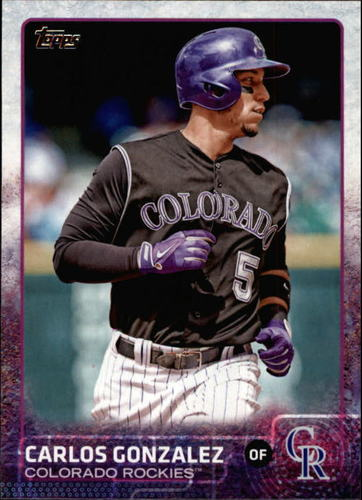 Photo of 2015 Topps #479A Carlos Gonzalez