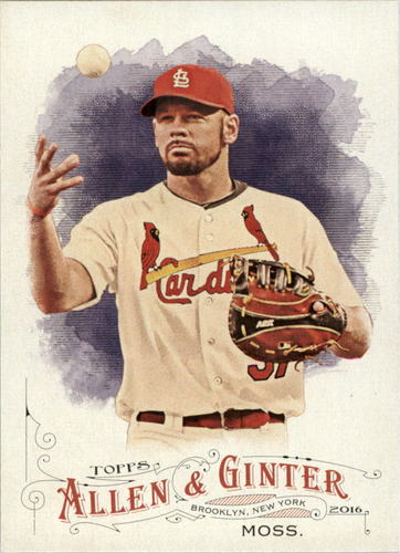 Photo of 2016 Topps Allen and Ginter #239 Brandon Moss